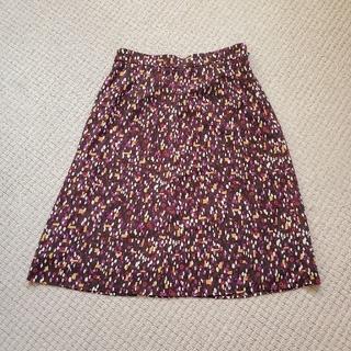 ローラアシュレイ(LAURA ASHLEY)の[Laura Ashley/ローラアシュレイ]幾何学柄Aラインスカート(ひざ丈スカート)