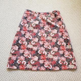 ローラアシュレイ(LAURA ASHLEY)のLaura Ashley/ローラアシュレイ]花柄Aラインスカート(ひざ丈スカート)