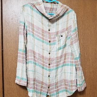 キューブシュガー(CUBE SUGAR)のキューブシュガーチェックシャツ(シャツ/ブラウス(長袖/七分))
