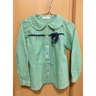 Seraph - seraph 胸リボンシャツ  110cm