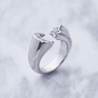 ヤマシタトモヒサ(山下智久)のクレセントルナ 指輪(リング(指輪))