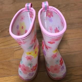 ミキハウス(mikihouse)のミキハウス  レインブーツ 14㎝(長靴/レインシューズ)