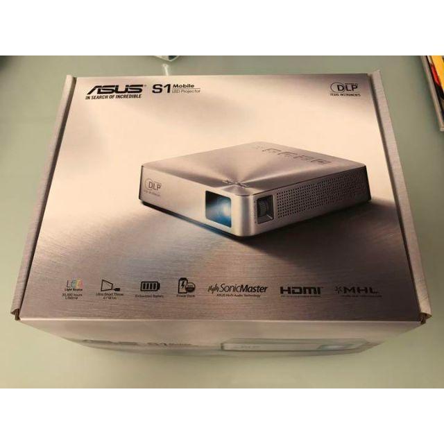 ASUS(エイスース)のASUS S1 モバイル プロジェクター スマホ/家電/カメラのテレビ/映像機器(プロジェクター)の商品写真