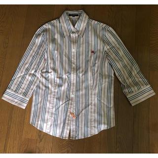 バーバリー(BURBERRY)のBurberry ストライプシャツ クリーニング済み(シャツ/ブラウス(長袖/七分))