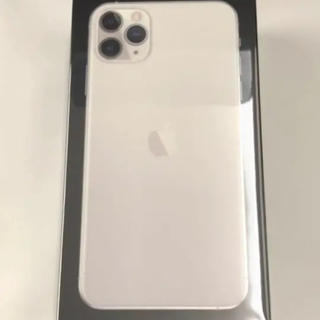 アイフォーン(iPhone)の即日発送 iPhone 11 Pro Max 512GB シルバー 香港モデル(スマートフォン本体)