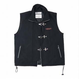 ジエダ(Jieda)のdairiku 19aw fireman buckle nylon vest(ベスト)