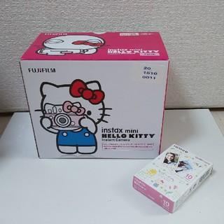 富士フイルム - 新品 instax mini HELLO KITTYキティちゃん チェキ