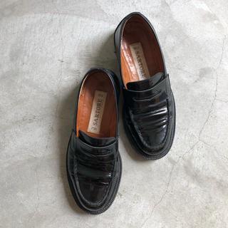 ドゥーズィエムクラス(DEUXIEME CLASSE)のサルトル SARTORE ローファー 黒 24cm(ローファー/革靴)