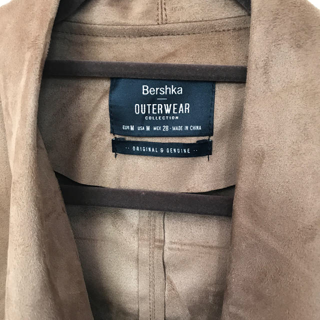 Bershka(ベルシュカ)の最終値下げ!早い者勝ち⭐︎Bershka スエードジャケット M size  レディースのジャケット/アウター(テーラードジャケット)の商品写真