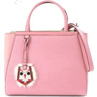 フェンディ(FENDI)の★フェンディ FENDI プチトゥージュール ピンク かわいいバッグ モンスター(ハンドバッグ)