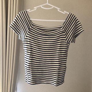 ローズバッド(ROSE BUD)のボーダーTシャツ(Tシャツ(半袖/袖なし))