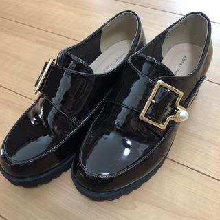 マジェスティックレゴン(MAJESTIC LEGON)のローファー パンプス パール ダークブラウン(ローファー/革靴)