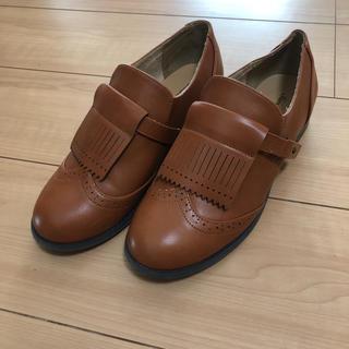 サマンサモスモス(SM2)のローファー ライトブラウン 24.5 L(ローファー/革靴)