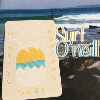 オニール(O'NEILL)のO'NEILLオニールUS限定NEWSKOOLsurfデザインBOXステッカー(サーフィン)