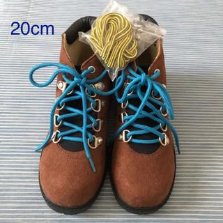 アンパサンド(ampersand)の20cm  新品 アンパサンド  格好良い ショートブーツ  替え紐付♪(ブーツ)