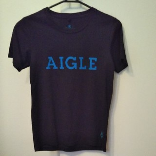 エーグル(AIGLE)の週末値下げ AIGLE エーグル ロゴTシャツ (Tシャツ/カットソー(半袖/袖なし))