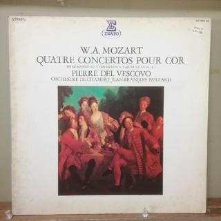 コロンビア(Columbia)のモーツァルト:4つのホルン協奏曲/デル·ヴェスコーヴォ(LPレコード)(クラシック)