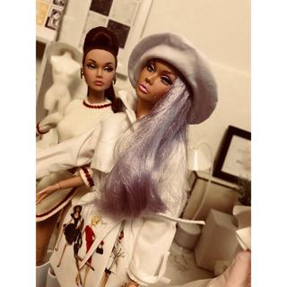 バービー(Barbie)のpoppy  paker バービーコート ポピーパーカーも着れます(ぬいぐるみ/人形)