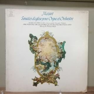コロンビア(Columbia)のモーツァルト:オルガンと管弦楽のための教会ソナタ(全曲)/アラン(LPレコード)(クラシック)