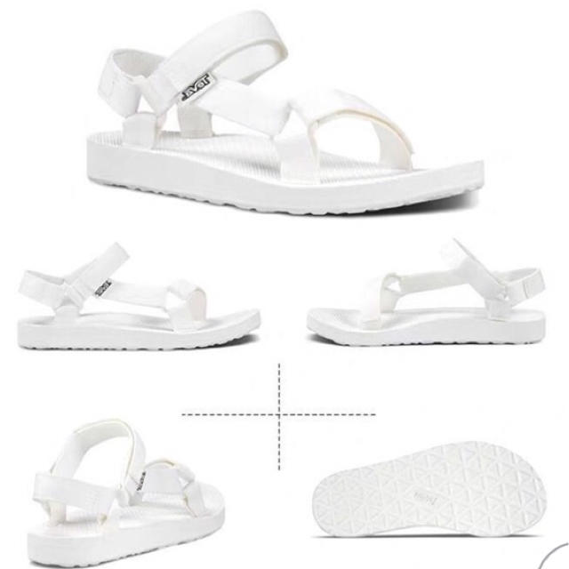 Teva(テバ)のTEVA teva オリジナルユニバーサル ホワイト 白 23cm レディースの靴/シューズ(サンダル)の商品写真