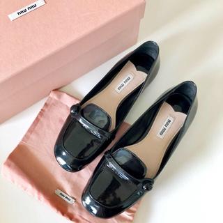 ミュウミュウ(miumiu)の【ご専用】MIUMIU シューズ  / Merlette ワンピース(ローファー/革靴)