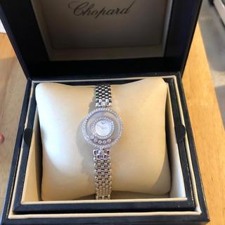 ショパール(Chopard)のショパール ハッピーダイヤモンド 時計 美品 定価200万 正規品CHOPARD(腕時計)