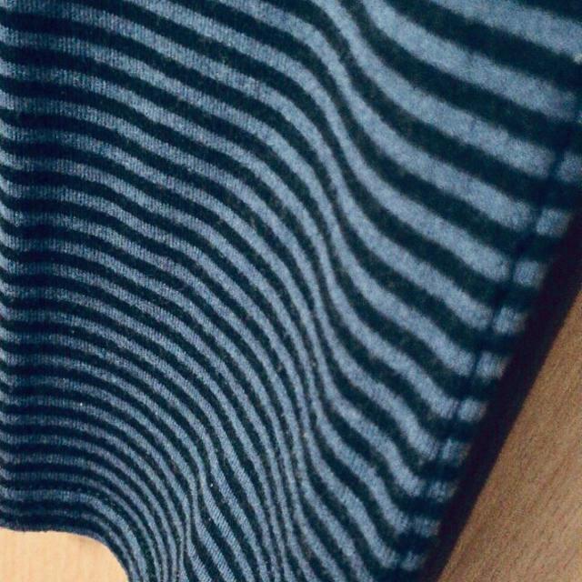 E hyphen world gallery(イーハイフンワールドギャラリー)のタンクトップ ボーダー/ブルー レディースのトップス(タンクトップ)の商品写真