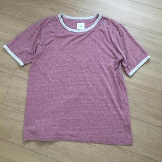 エンジニアードガーメンツ(Engineered Garments)のts(s) ティーエスエス トリム リンガー  日本製(Tシャツ/カットソー(半袖/袖なし))