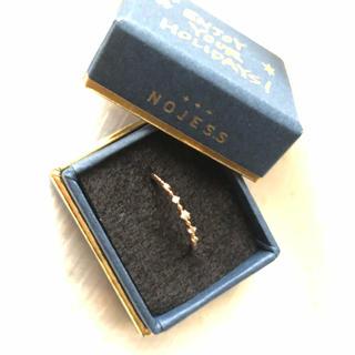 ノジェス(NOJESS)のノジェス  ピンキーリング ダイヤモンド K10 ete アガット好きさん(リング(指輪))