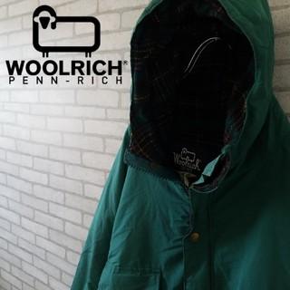 ウールリッチ(WOOLRICH)の希少 USA製 ウールリッチ ジャケット アースグリーン  オーバーサイズ(ブルゾン)
