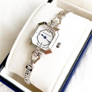ヴァンドームアオヤマ(Vendome Aoyama)の極美品☆ ヴァンドーム青山 ダイヤ6pt 定価75600円 ブレスウォッチ(腕時計)