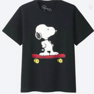 スヌーピー(SNOOPY)のUNIQLO ユニクロ × KAWS カウズ スヌーピー サイズXL (Tシャツ/カットソー(半袖/袖なし))