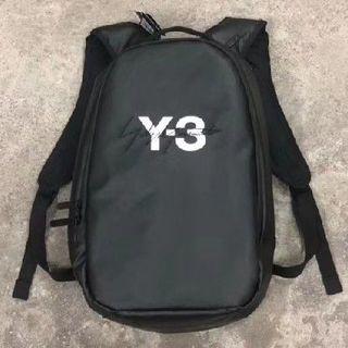 ワイスリー(Y-3)の極美品 Y-3 LOGO BACKPACK バックパック(ハンドバッグ)