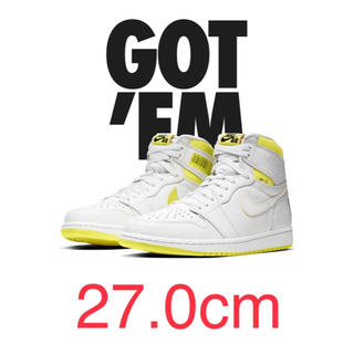 ナイキ(NIKE)のNIKE air jordan 1 aj1 first class 27(スニーカー)