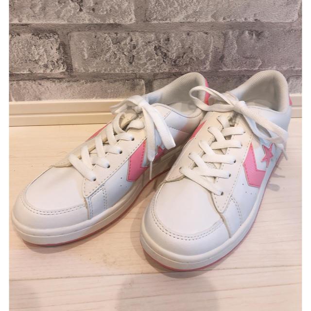 CONVERSE(コンバース)のコンバース スニーカー ピンク レディースの靴/シューズ(スニーカー)の商品写真