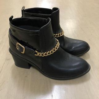 ジーユー(GU)の黒ブーツ(ブーツ)