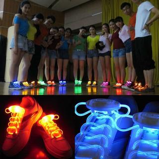 光る靴ひも!! シューズ ファッション LED ランニング(その他)