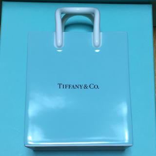 ティファニー(Tiffany & Co.)のティファニー ショッパー型 小物入れ(小物入れ)
