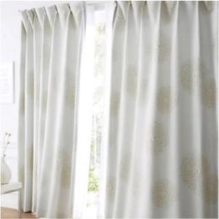 ベルメゾン(ベルメゾン)の遮光カーテン 100×200 2枚 100×140 2枚(カーテン)