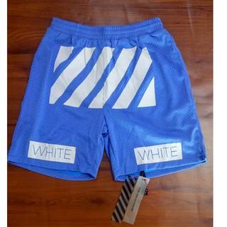 オフホワイト(OFF-WHITE)のお洒落!!OFF WHITE ショットパンツ スウェットパンツ(ショートパンツ)