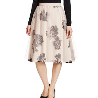 フレイアイディー(FRAY I.D)のフレイアイディー フラワー  チュール ロングスカート(ロングスカート)