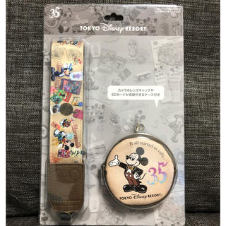 Disney - 一眼レフカメラストラップ 35周年記念 ディズニー