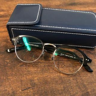 ビームス(BEAMS)の2019 YELLOWS PLUS イエローズプラス CIS BLACK 眼鏡(サングラス/メガネ)