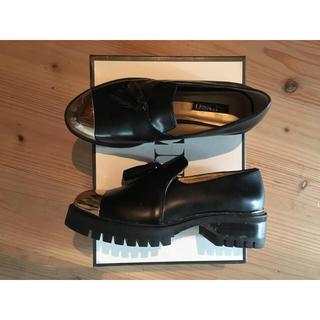 センソユニコ(Sensounico)のSENSO 厚底メタリックローファー(ローファー/革靴)