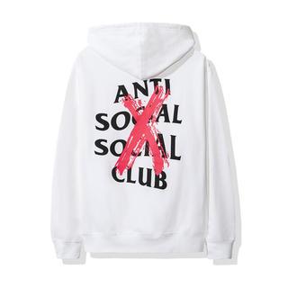 アンチ(ANTI)のantisocialsocialclub cancelled hoodie (パーカー)