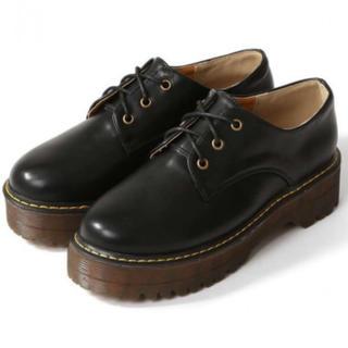 グレイル(GRL)の2WAY厚底レースアップシューズ GRL(ローファー/革靴)