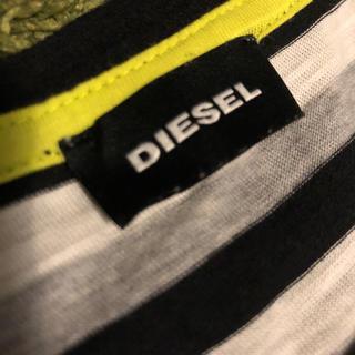 ディーゼル(DIESEL)のdiesel ボーダー Tシャツ(Tシャツ(半袖/袖なし))