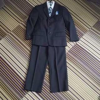 ヒロミチナカノ(HIROMICHI NAKANO)のお値下げ!1回着用*hiromichi nakano 男の子 スーツ一式 120(ドレス/フォーマル)