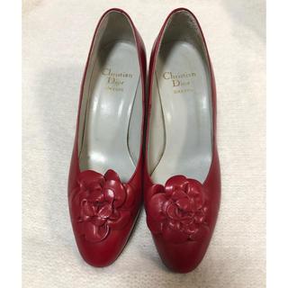 クリスチャンディオール(Christian Dior)のdior 真っ赤なパンプス (ハイヒール/パンプス)