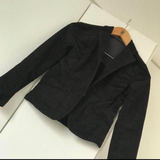ムジルシリョウヒン(MUJI (無印良品))のコーデュロイ テーラードジャケット 無印 未使用(テーラードジャケット)